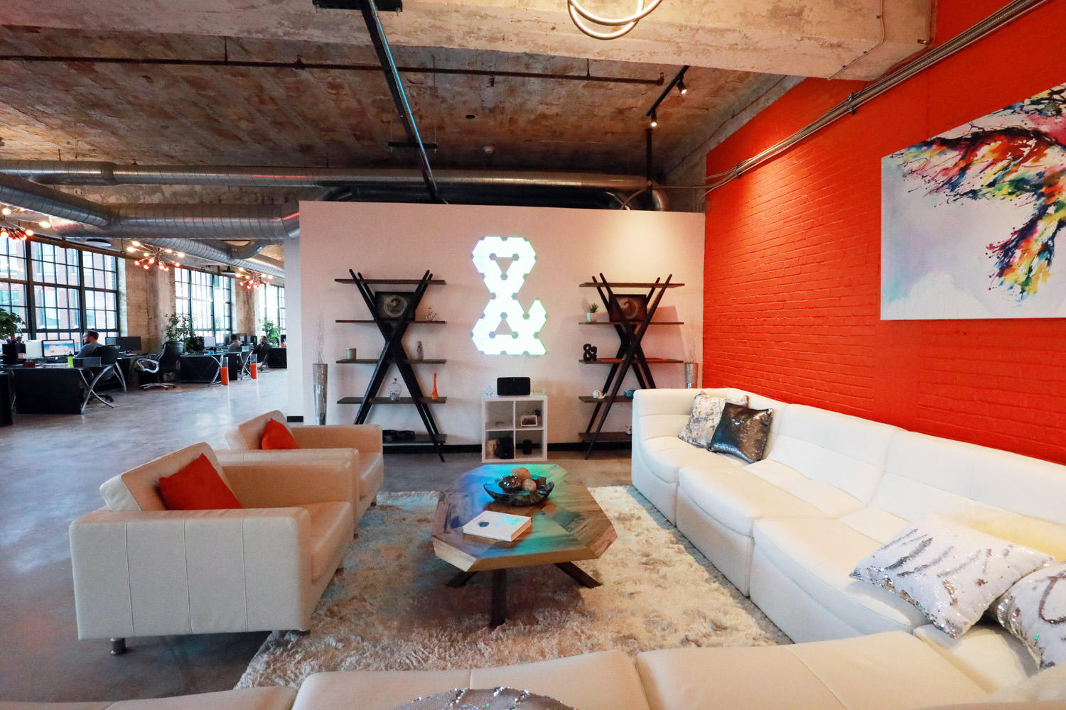The interior of Web Design and Company, a St Louis Marketing agency.