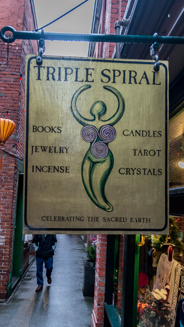 Triple Spiral Metaphysical Gifts in Victoria