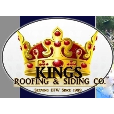 KINGS ROOFING  and  SIDING CO. 817/516-7663