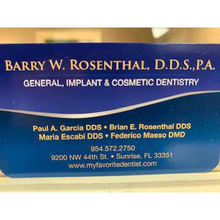 Barry W Rosenthal DDS image 2