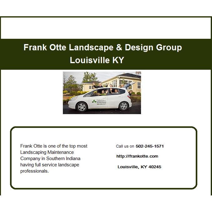 Frank Otte Landscape & Design Group