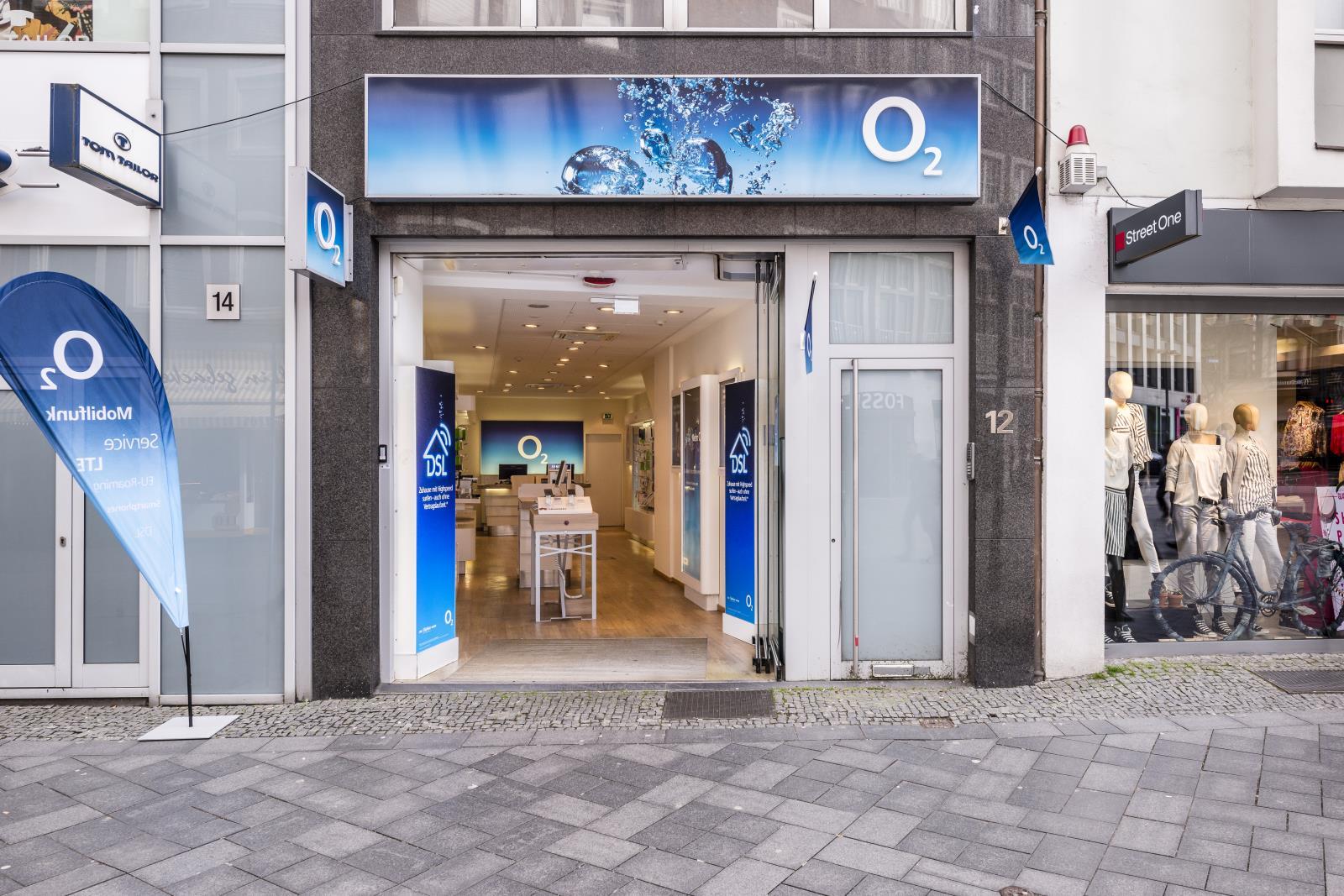 o2 Shop - GESCHLOSSEN, Adalbertstraße 12 in Aachen