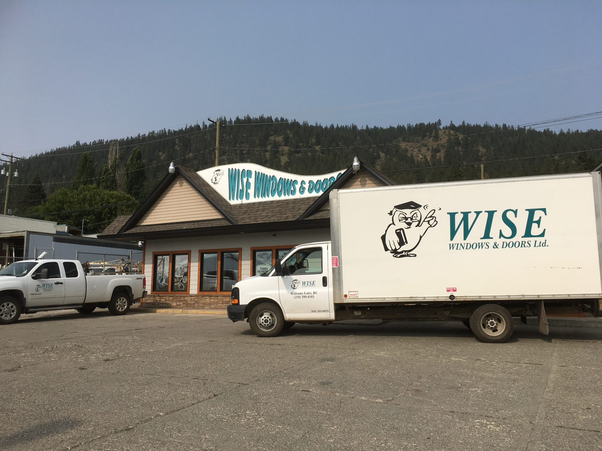 Wise Windows & Doors (Williams Lake) Ltd in Williams Lake