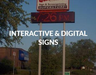 Interactive & Digital Signs
