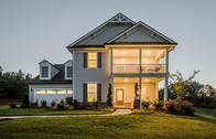 Beautiful Exteriors featuring Covered Porches and 2 Car Garages