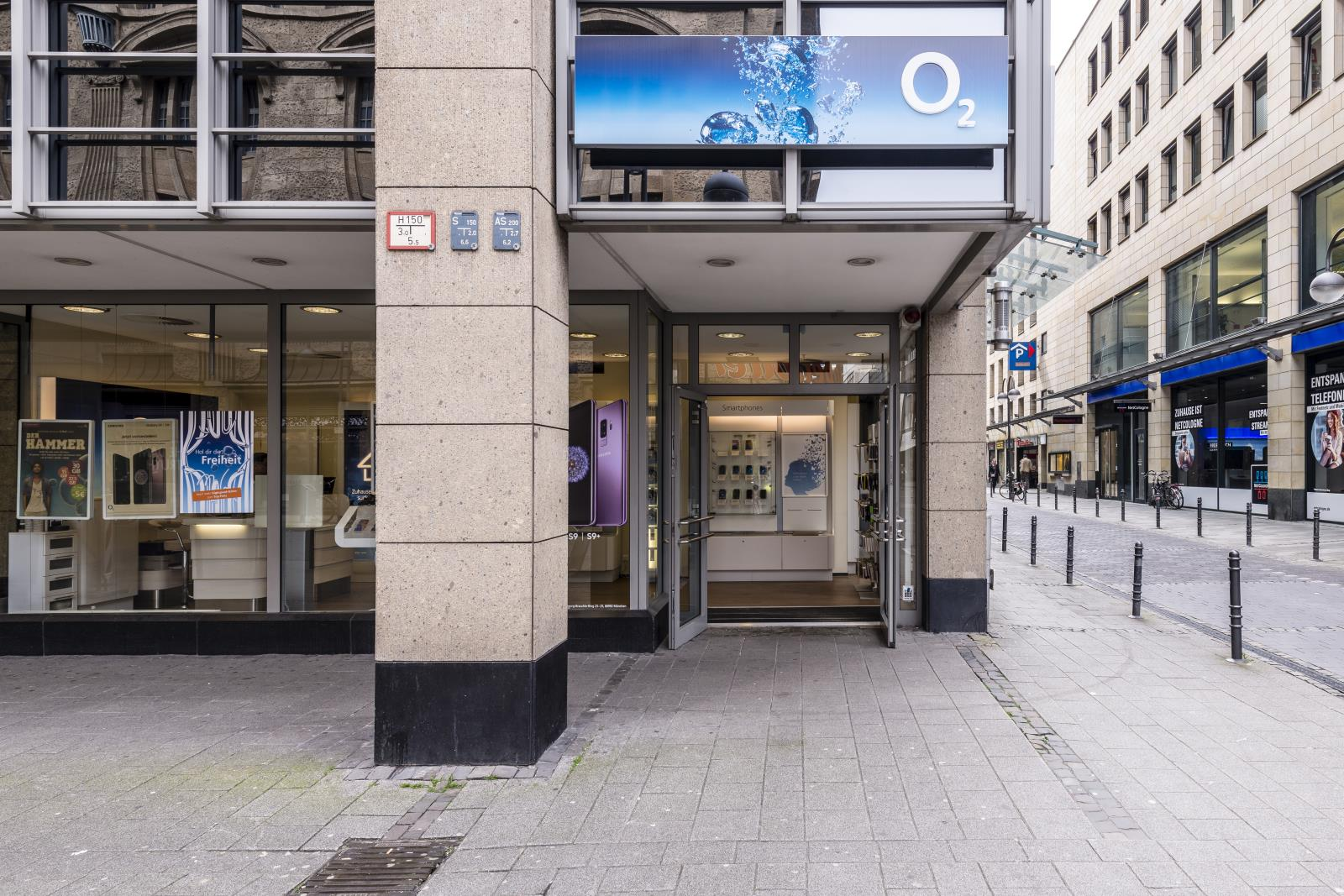 o2 Shop, Richmodstr. 4-8 in Köln