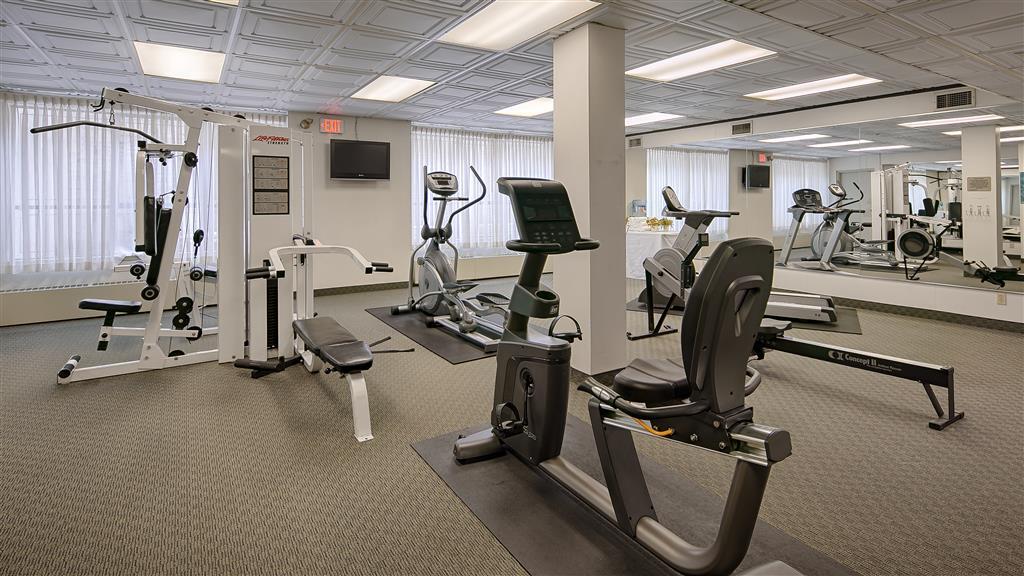 Best Western Plus Carlton Plaza Hotel in Victoria: Fitness Centre