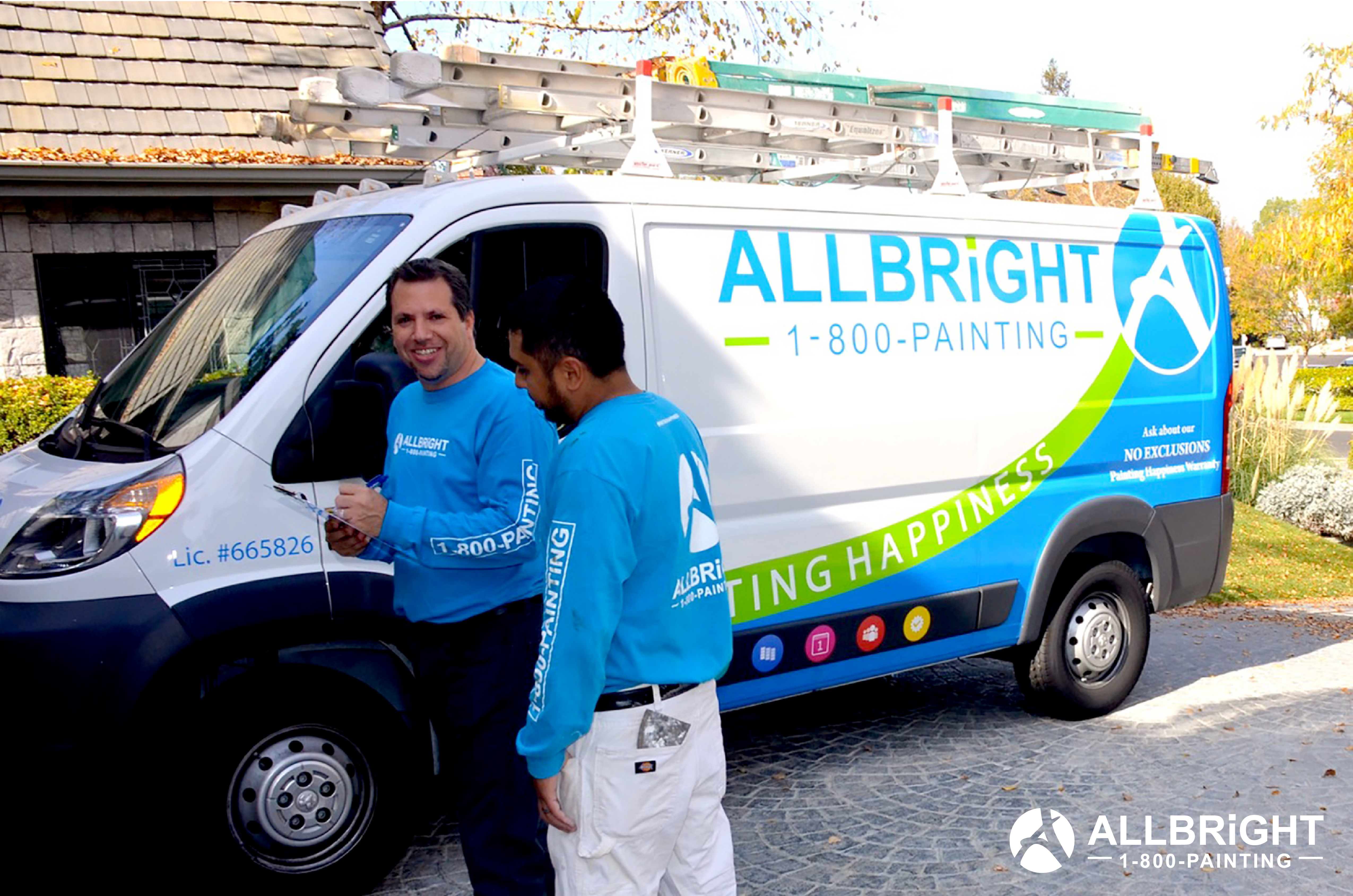 ALLBRIGHT 1-800-PAINTING