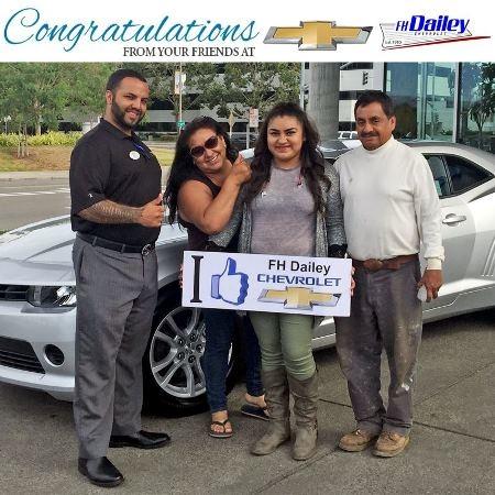 F H Dailey Chevrolet Member San Leandro Ca 94577