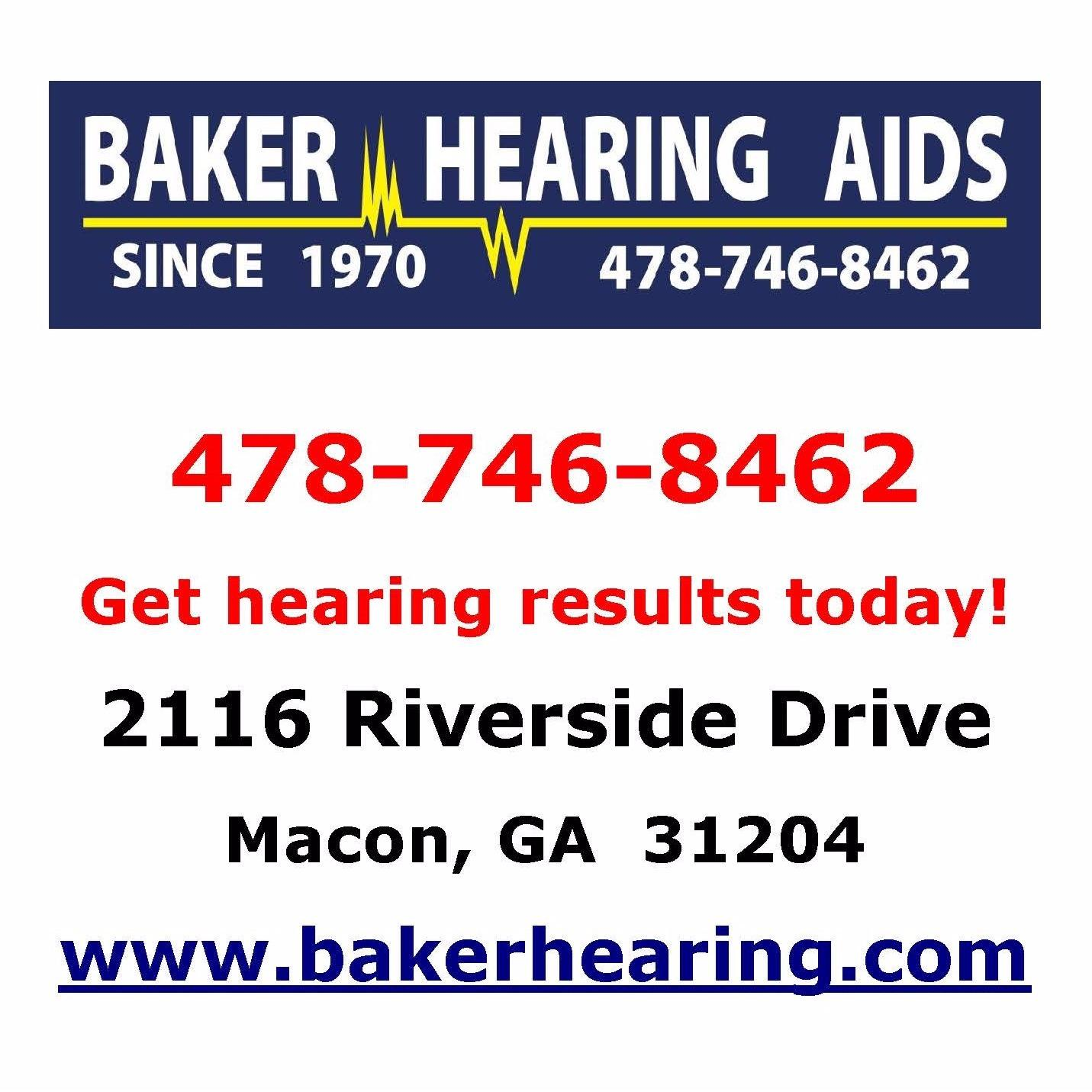 Baker Hearing Aids - Macon, GA - Medical Supplies