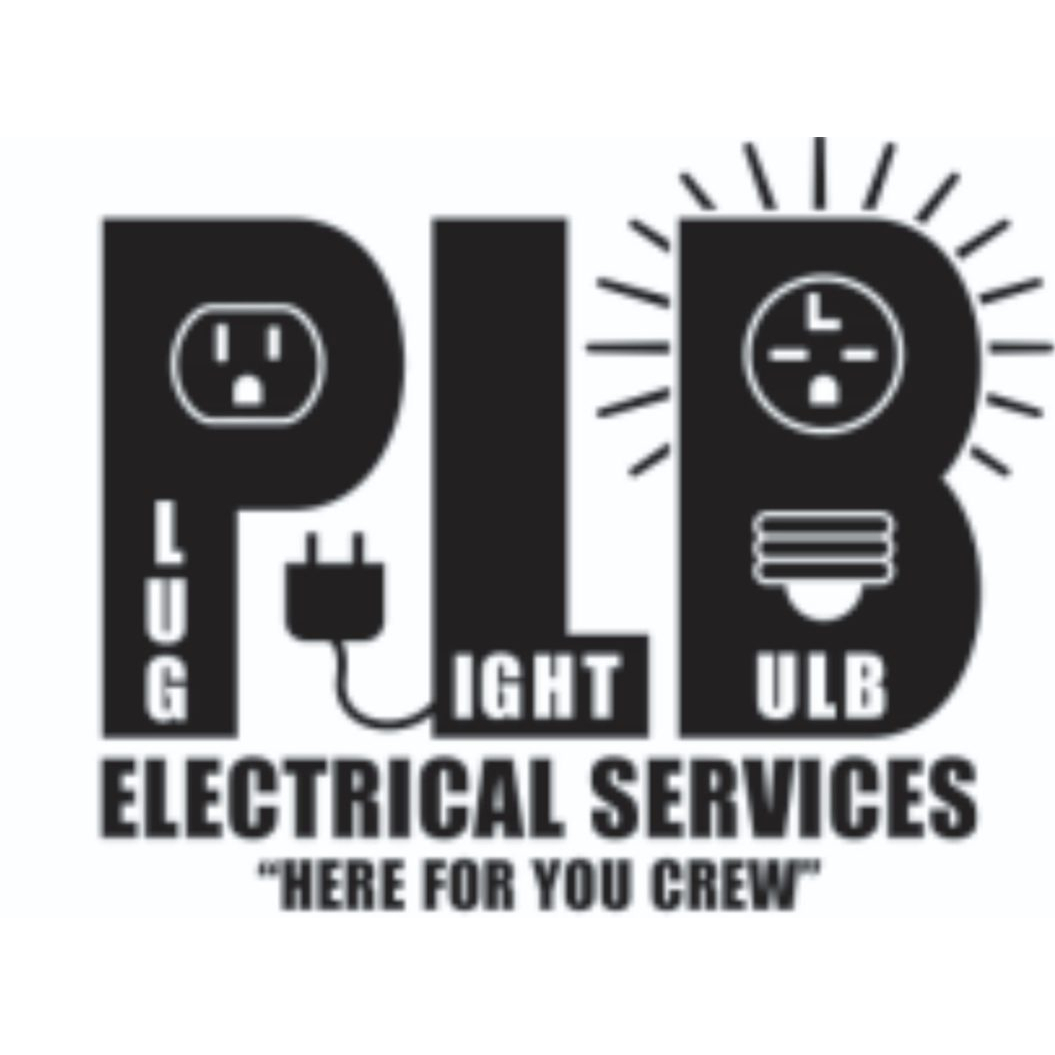 Plug Light Bulb Electrical Services Logo