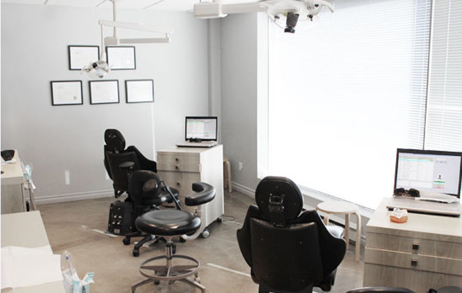 Dr Catherine Jomphe Orthodontiste in Boucherville: Operatory rooms.