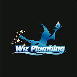 Wiz Plumbing Logo