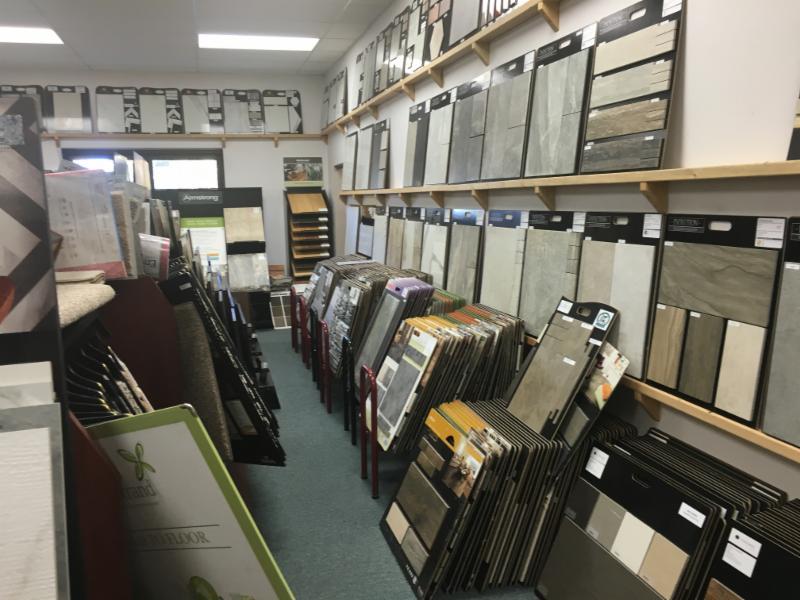 Schiller Floors Ltd in Quesnel: showroom