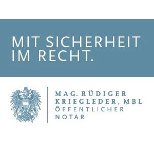 Mag. Rüdiger Kriegleder ,MBL - Notariat Gallneukirchen