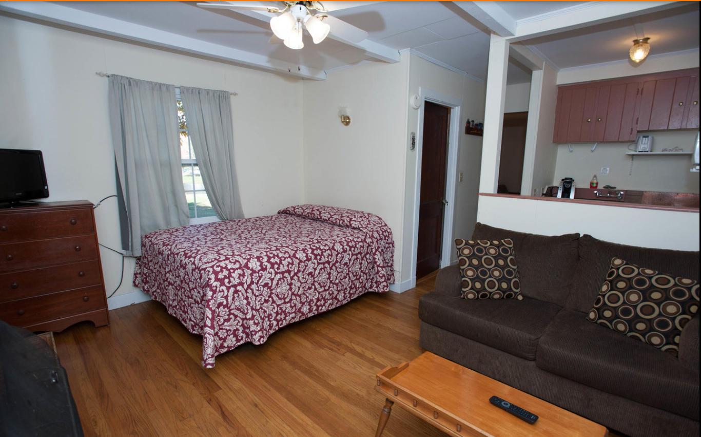 Eden Village Bar Harbor Cottage One Bedroom Cottage Interior