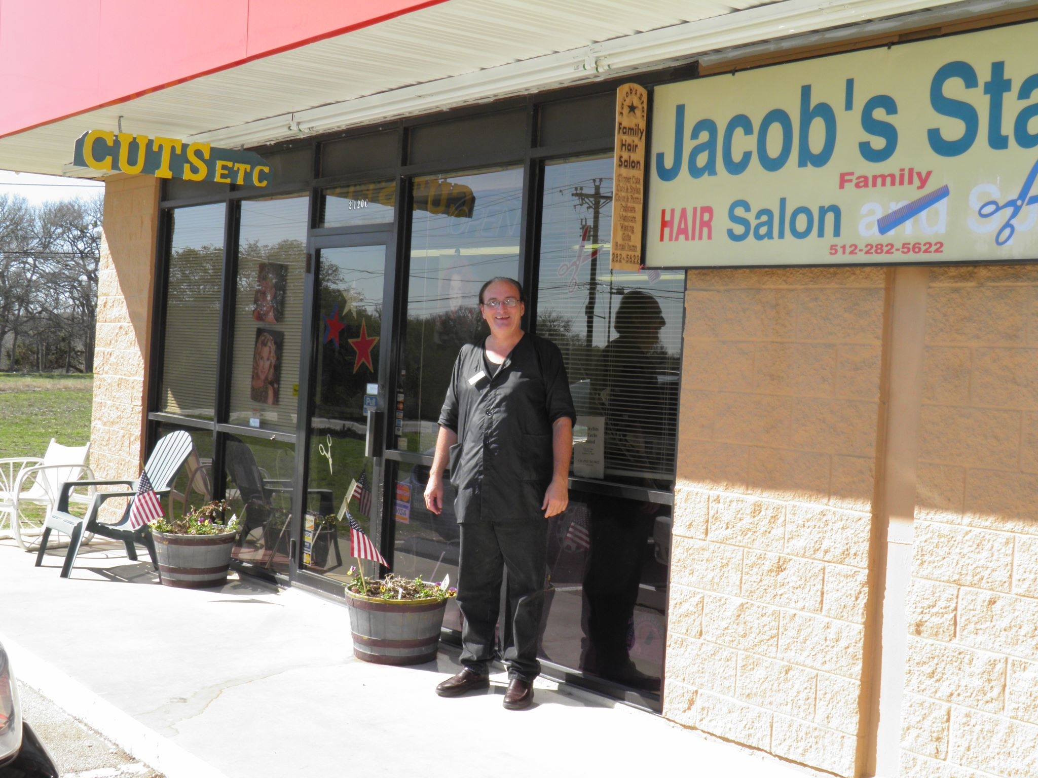 Jacob 39 s star family hair salon manchaca tx 78652 for 4 star salon services