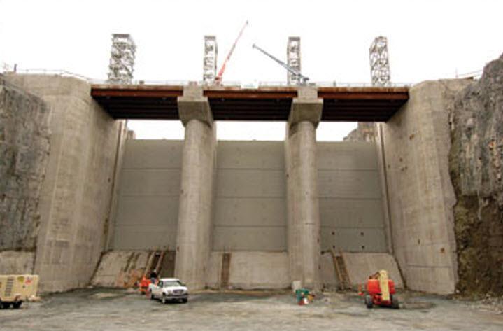 Béton Régional Inc à Chicoutimi: Barrage Eastmain