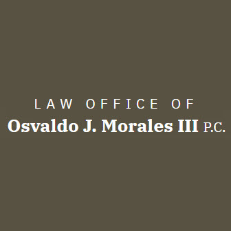 Law Office of Osvaldo J. Morales III P.C. Logo