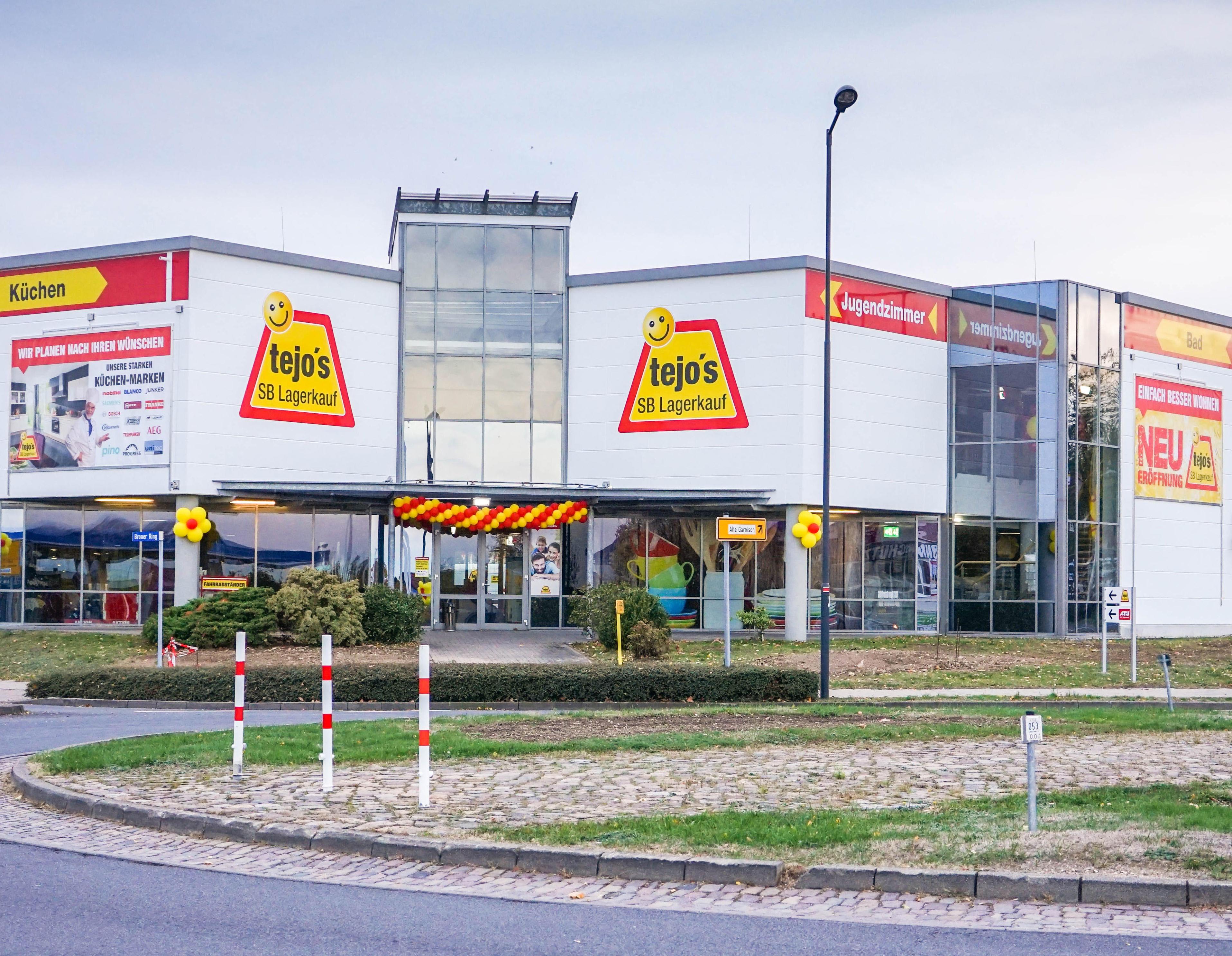 Gebäudeabbildung tejo's SB Lagerkauf Grimma