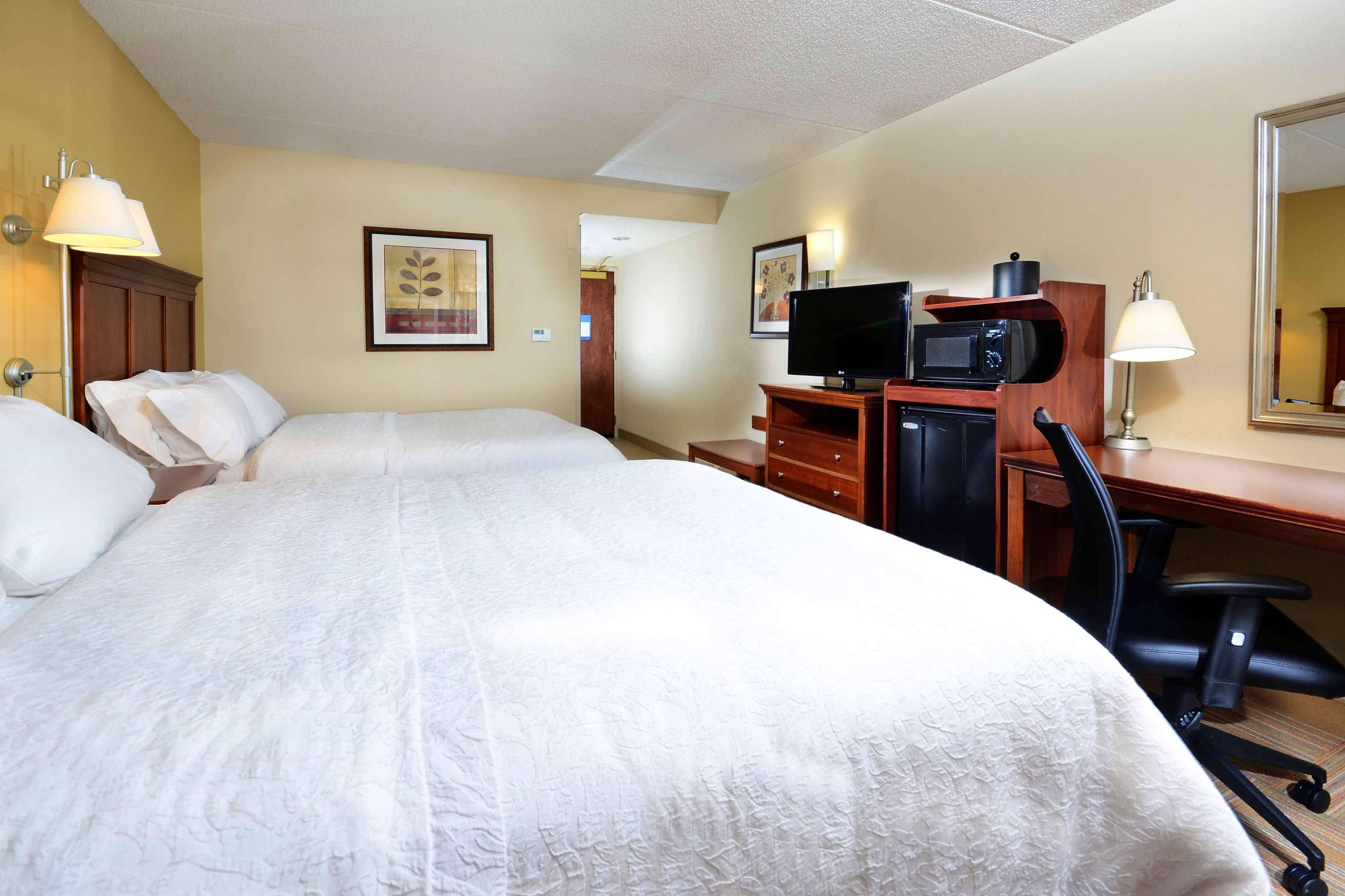 Qeen Bed with Free Breakfast