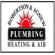 Robertson & Agnew Plumbing Heating & Air Logo