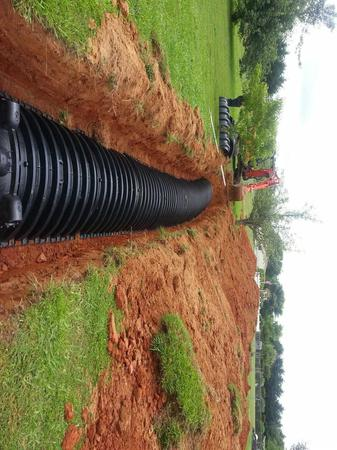Alex is doing a septic repair in SC. Just one of many services AAA City Plumbing offers.