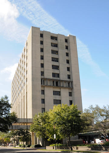 Rutledge Tower, located at 135 Rutledge Ave.