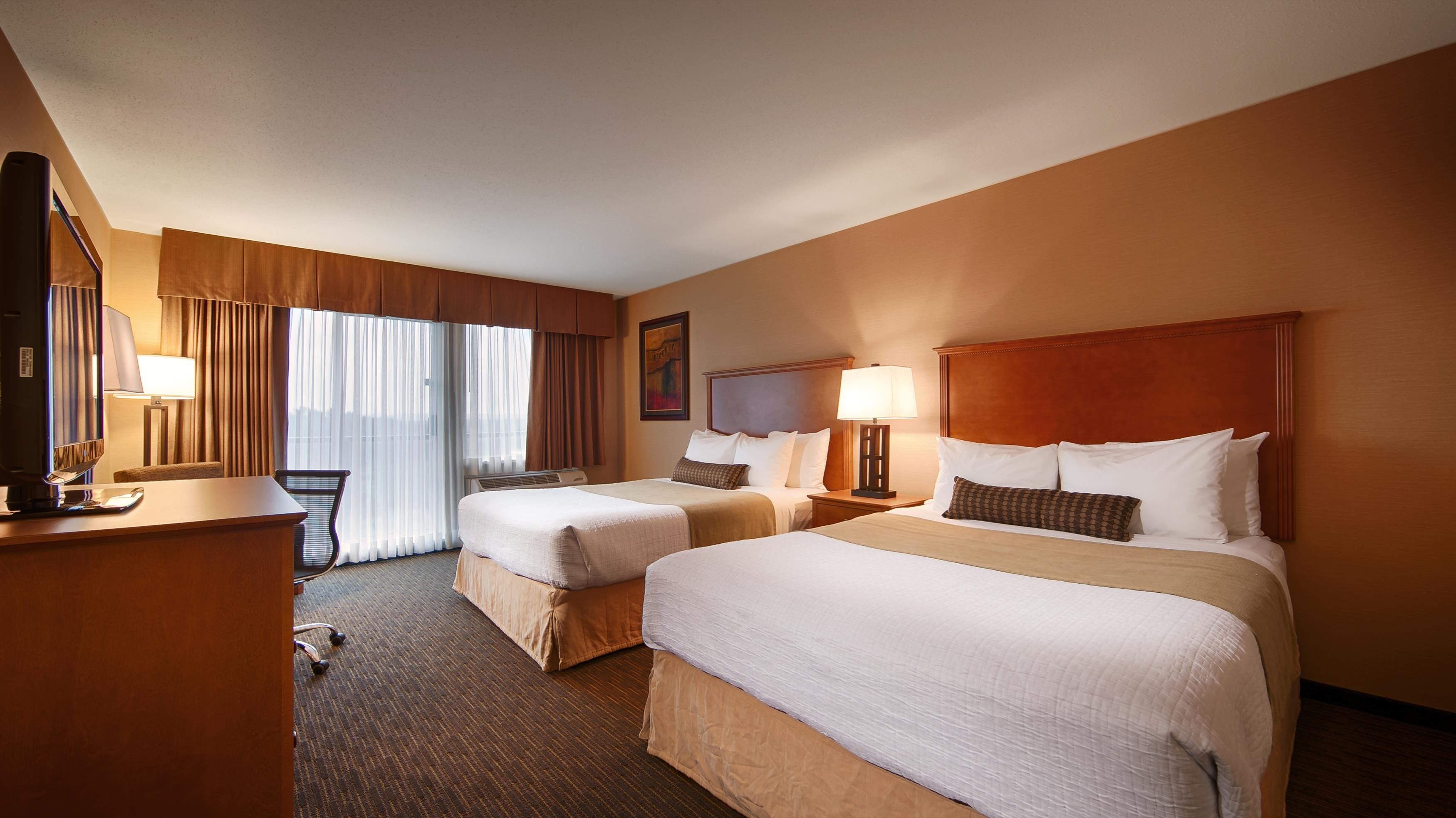 Best Western Plus Mission City Lodge in Mission: Two Queen Guest Room