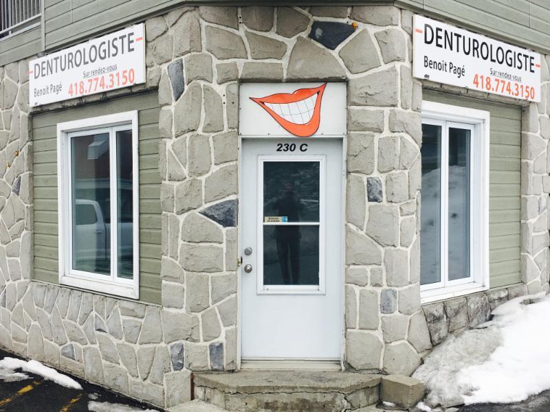 Benoit Pagé Denturologiste
