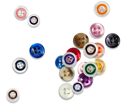 Choosing the perfect button from our high-quality button collections – created by 2 of the world's finest manufacturers, Italian craftsmen Linea Mitiaro and Tiger Button Co. – are sure to help your cu