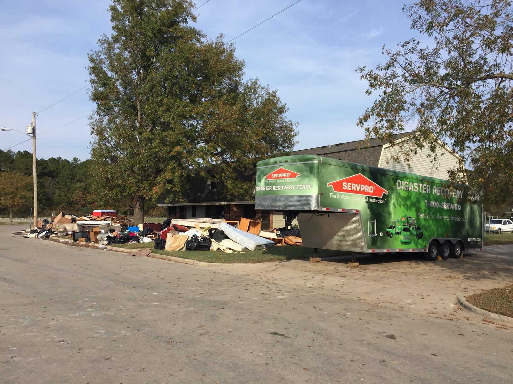 Our SERVPRO Disaster Recovery Team is ready for any size disaster!