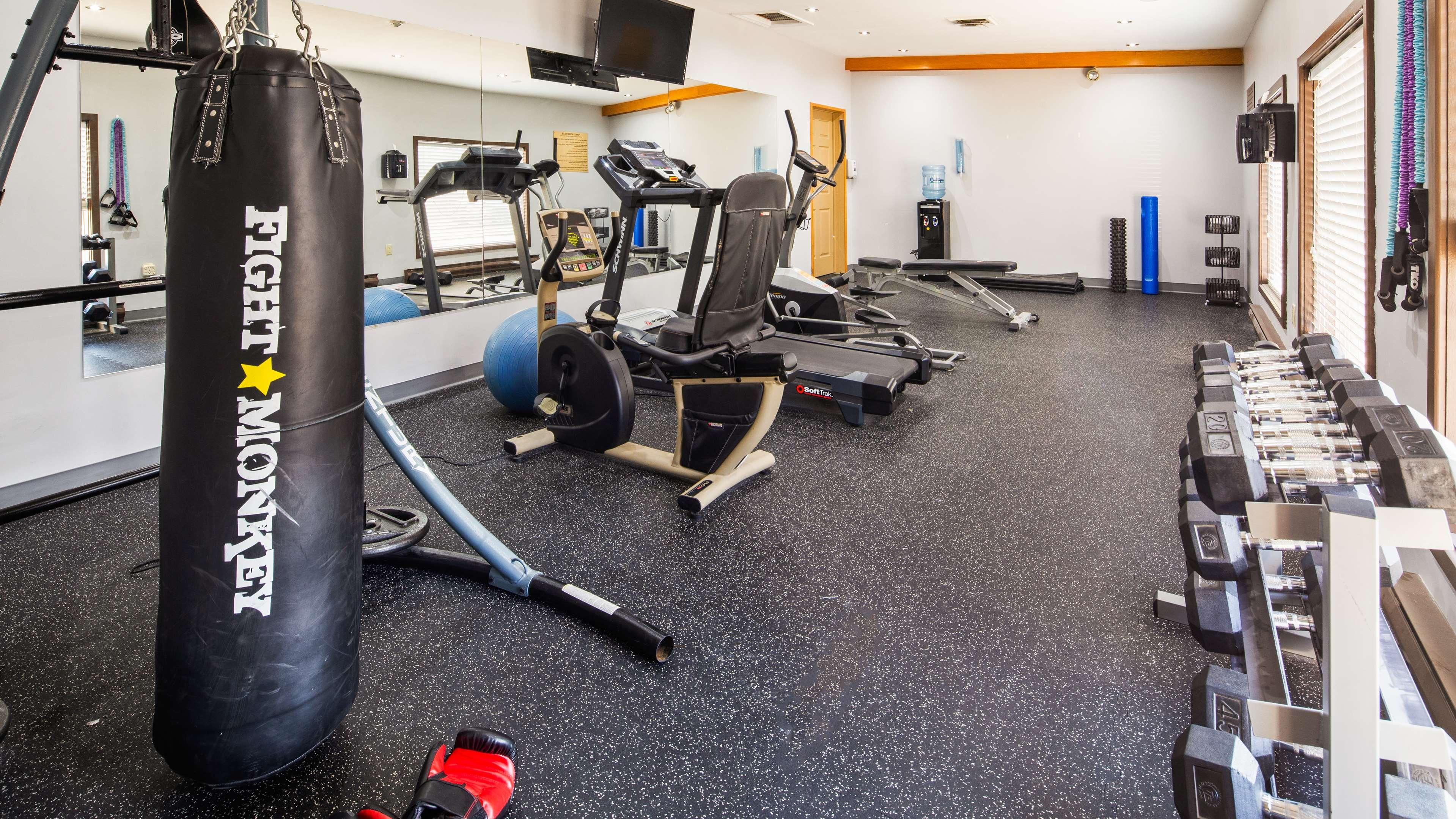 Best Western Little River Inn à Simcoe: Fitness Center