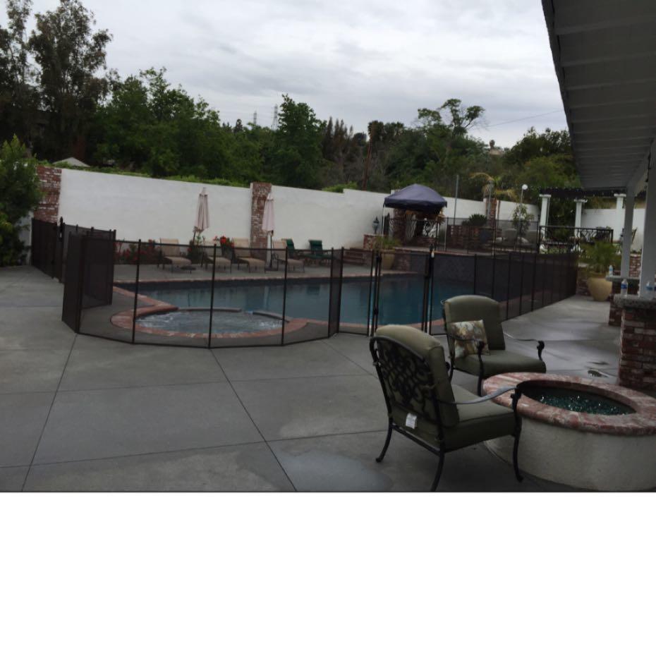 Nathans Pool Fence image 15