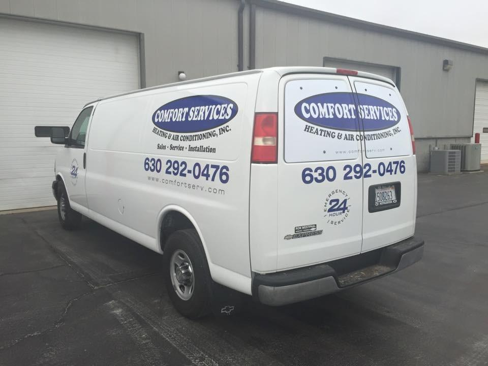 Comfort Services Heating & Air Conditioning, Inc. image 0