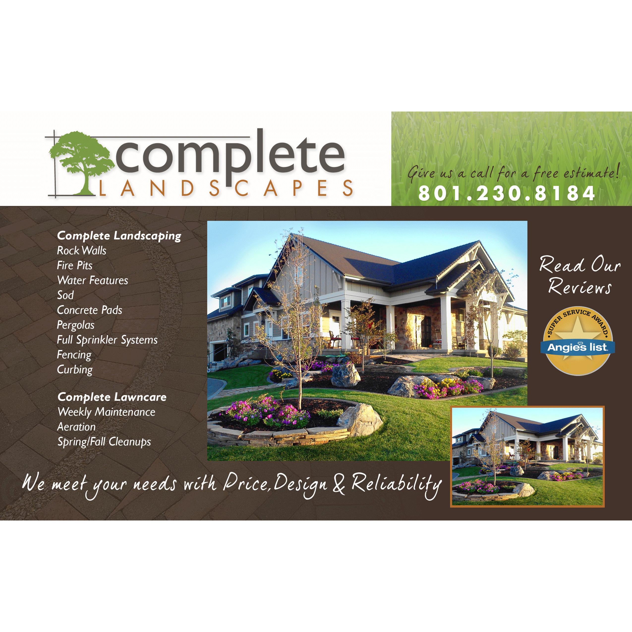 Complete Landscapes