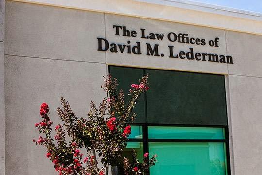 Law Offices of David M. Lederman image 5