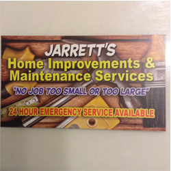 Jarrett's Home Improvements & maintenance Services