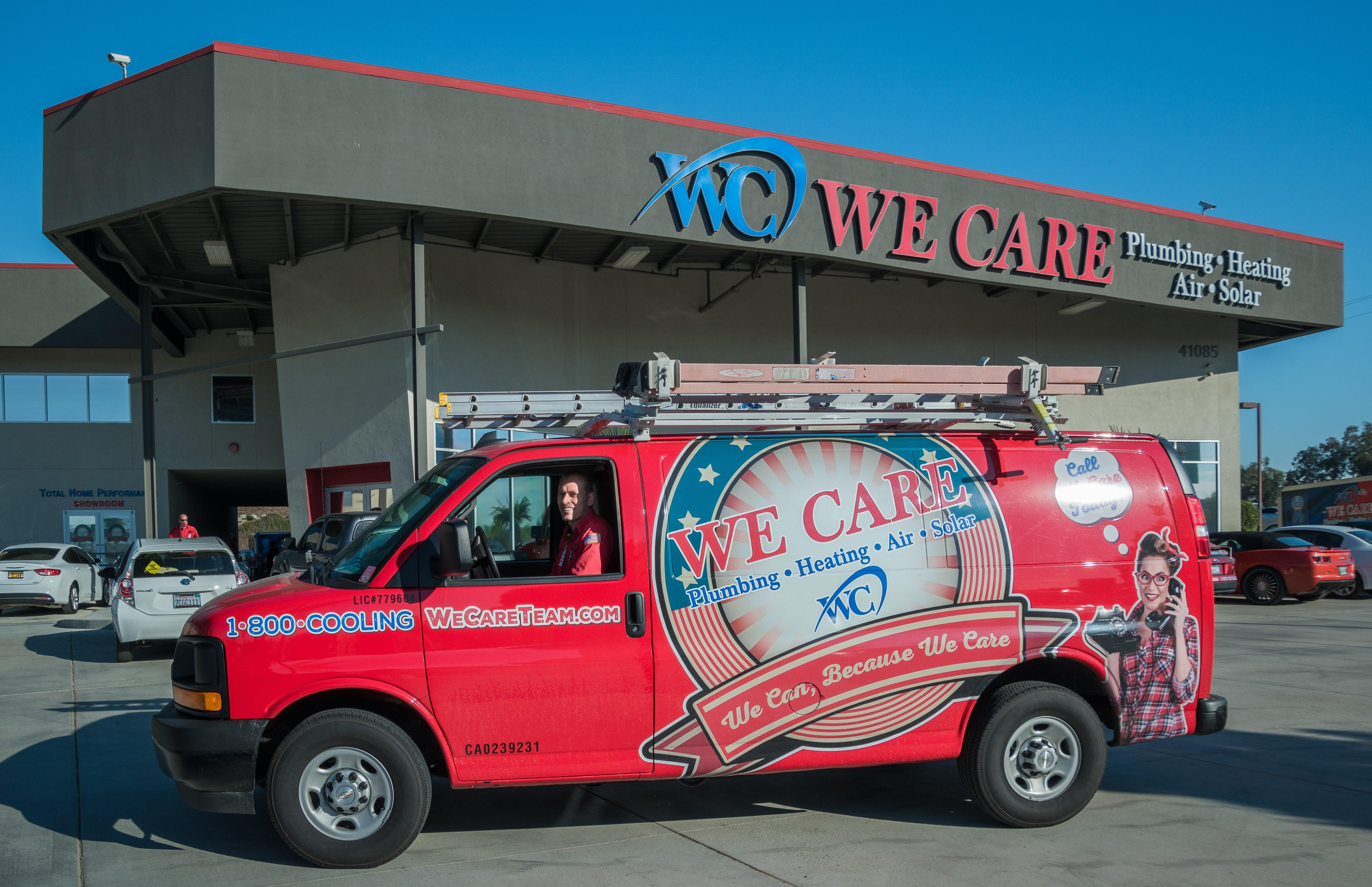 We Care Plumbing Heating Air and Solar image 0
