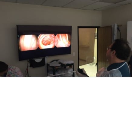 Brand new system in the office with Ultra Hi Def screen and 330 degree view of your colon.