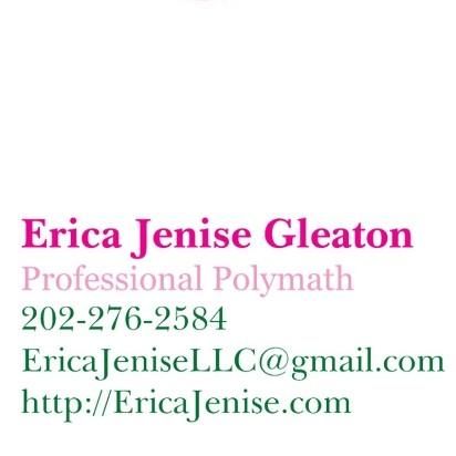 💖💚 Pretty Pink Mobile Notary & Polymath | Erica Jenise, LLC 💚💖 image 2