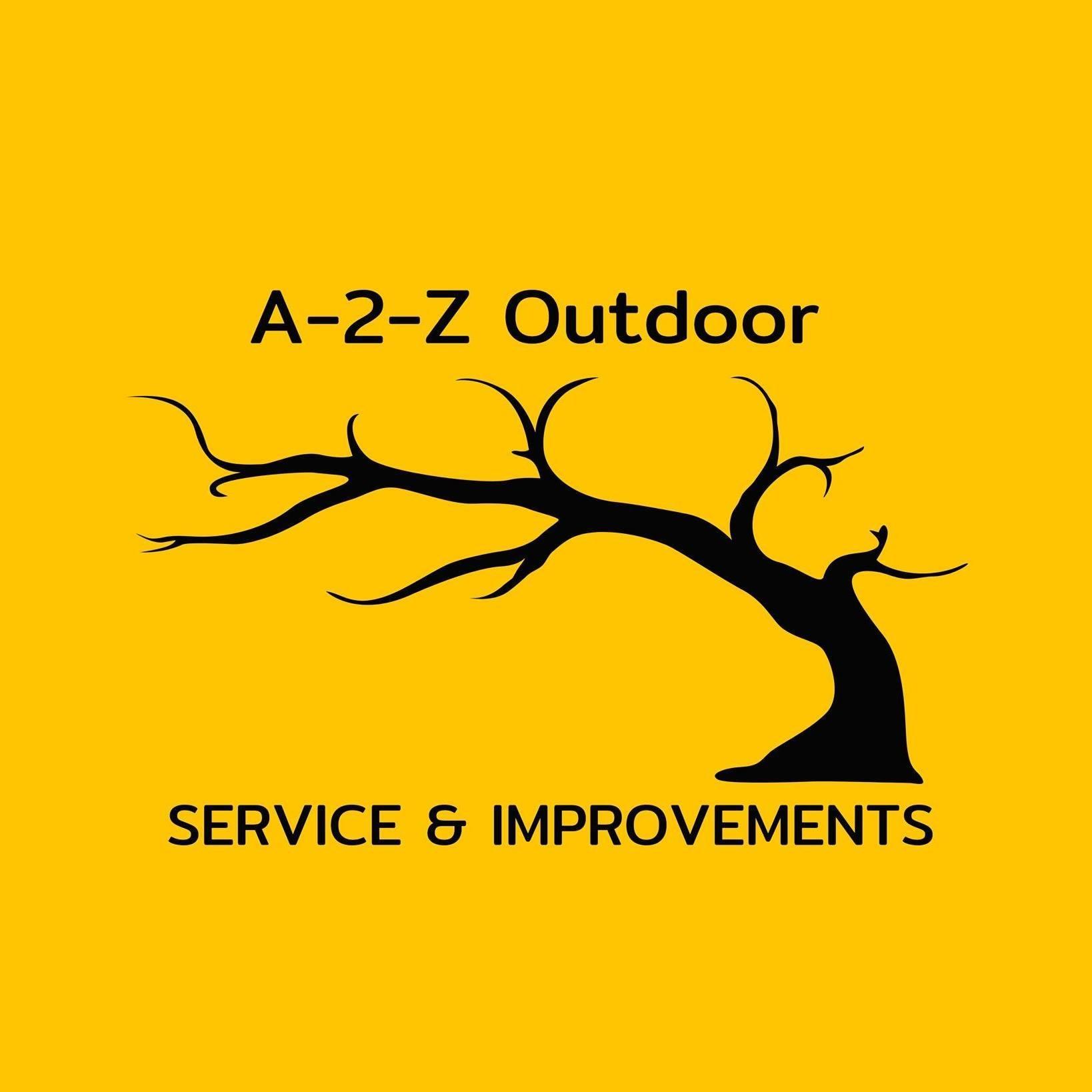 A-2-Z Outdoor Services & Improvements Logo