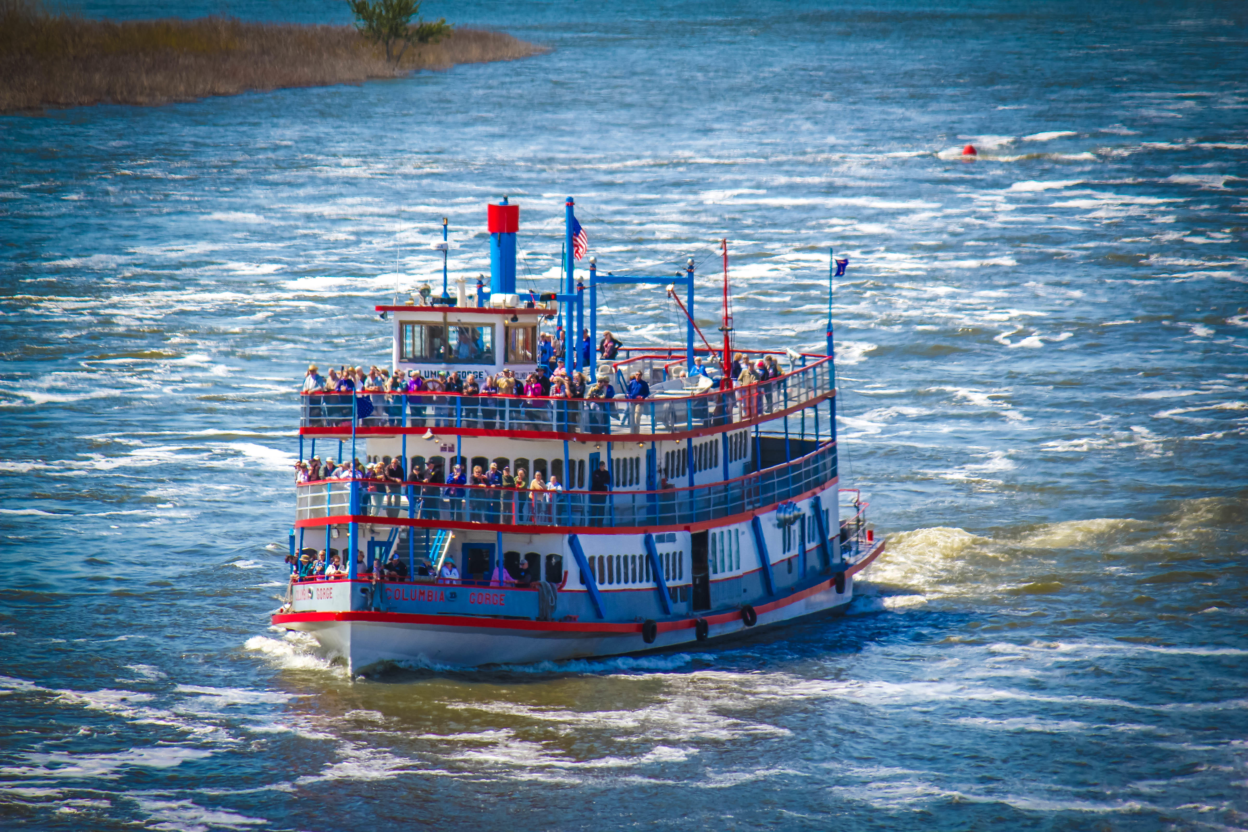 Columbia Gorge Sternwheeler and Locks Grill image 1