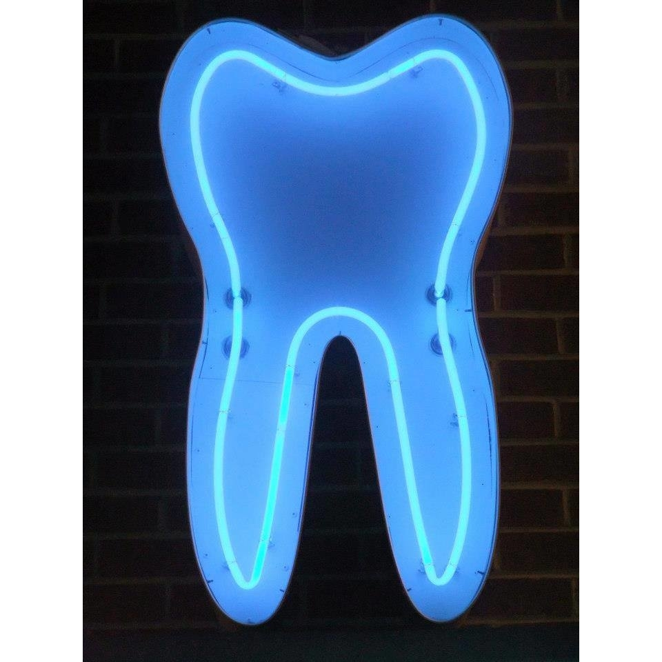 image of Blue Neon Tooth Dentistry
