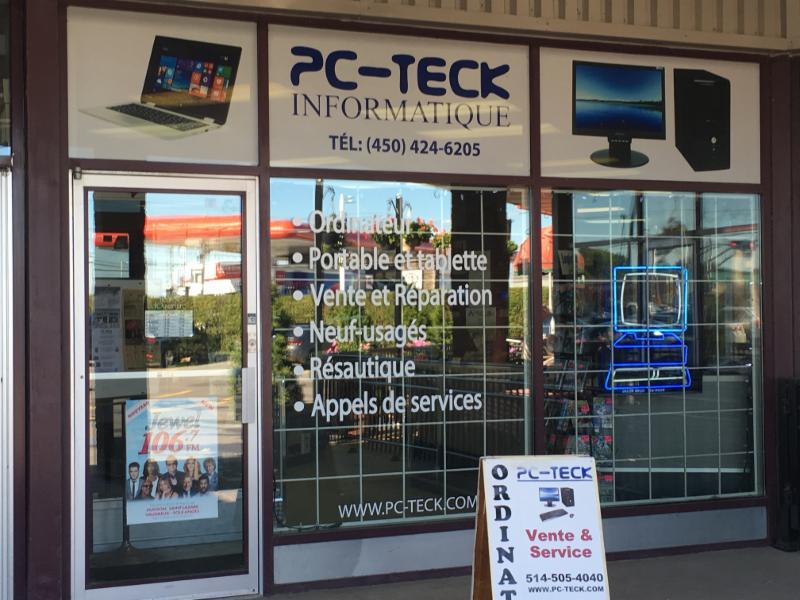 PC-Teck Informatique à Vaudreuil-Dorion