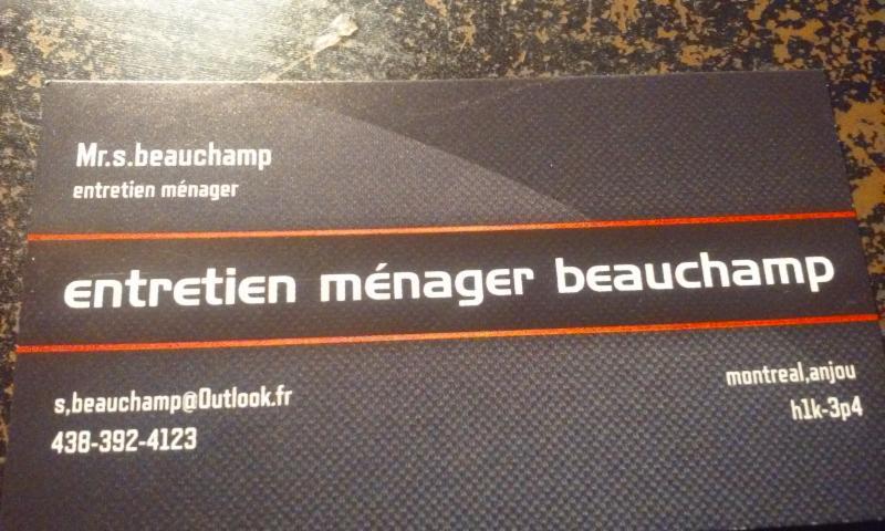 Entretien Ménager Beauchamp
