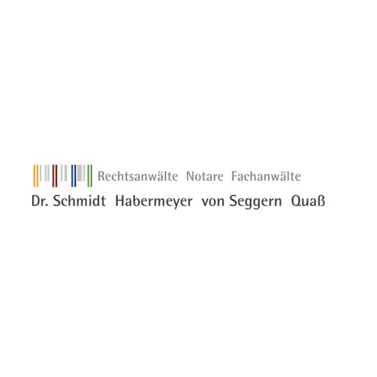 Logo von Rechtsanwälte, Notare und Fachanwälte   Dr. Schmidt, Habermeyer, von Seggern, Quaß
