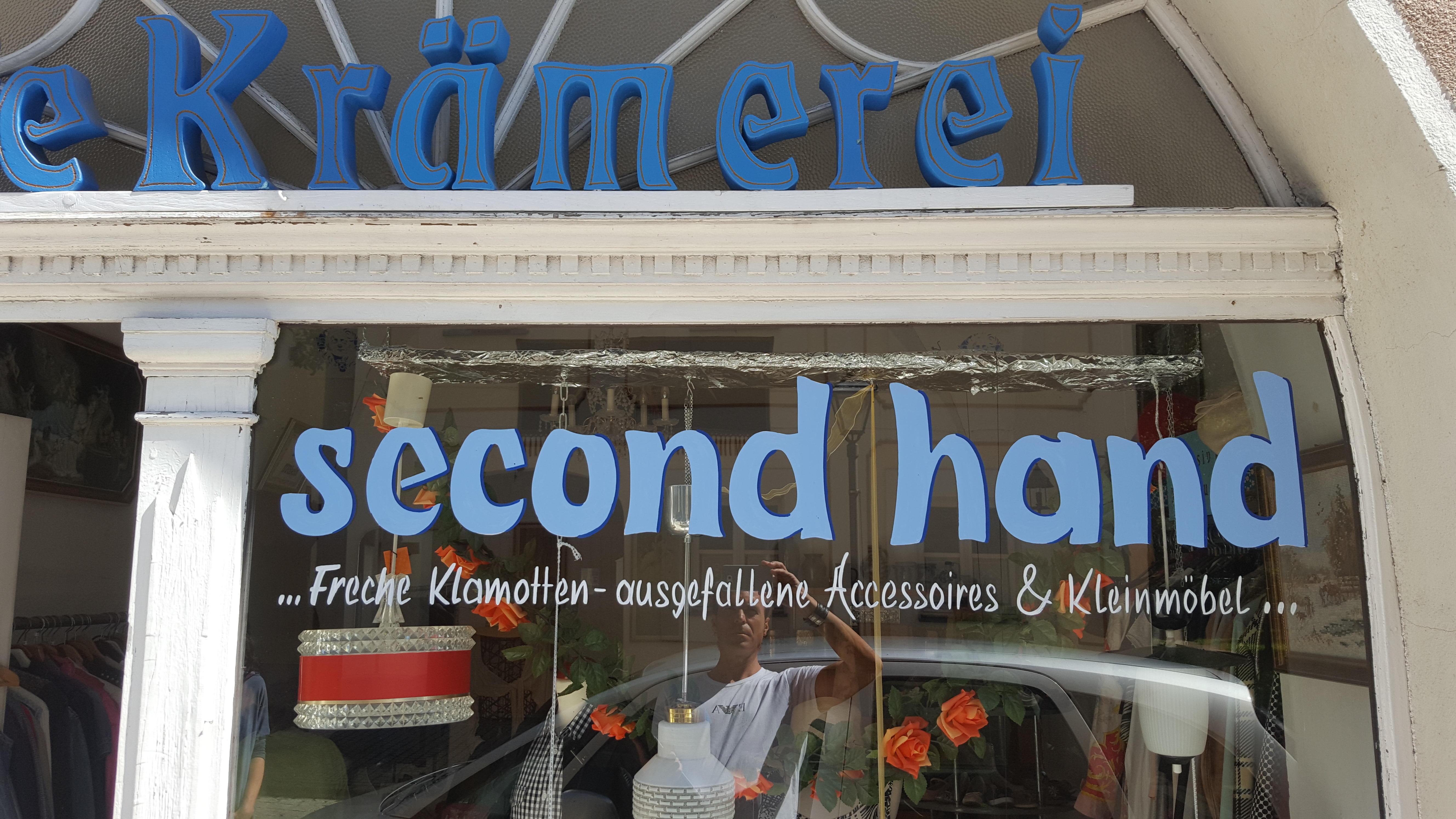 Die Kr Merei Der Second Hand Laden In Hersbruck