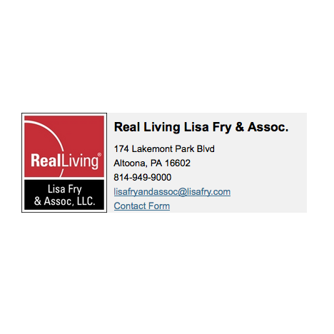 Real Living Lisa Fry & Assoc - Altoona, PA - Real Estate Agents