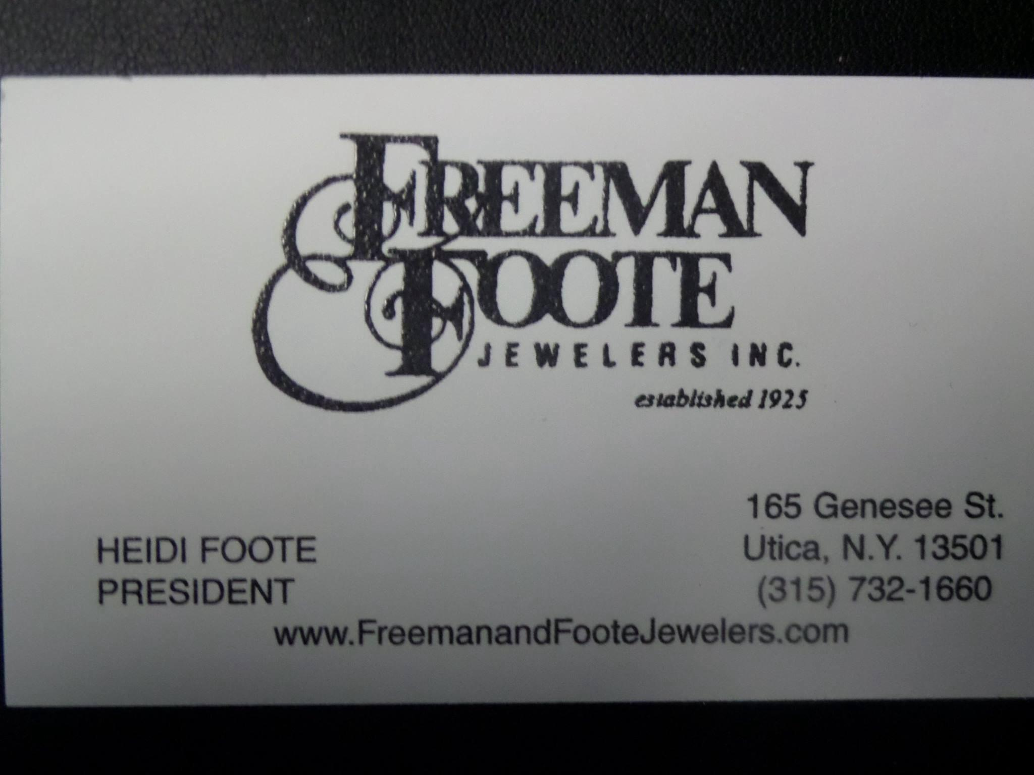 Freeman & Foote Jewelers Inc. in Utica, NY, photo #7